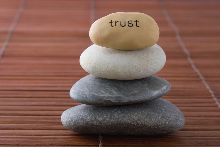 learning to trust in a relationship